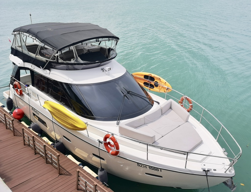 Spacious Yacht For Rent Yacht Hire Singapore